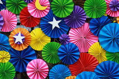 Colourful Paper background 2 Stock Photography