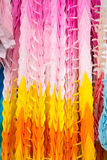 Colourful Paper Cranes, Kyoto, Japan. Royalty Free Stock Photos