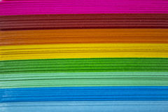 Colourful Paper Stock Image