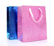 Colourful paper shopping bags Royalty Free Stock Image