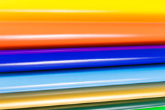 Colourful Paper on white stock photography