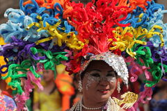 Colourful participant of Gay and Lesbian Pride Parade Stock Image