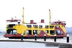 Colourful Passenger & Car Ferry Royalty Free Stock Photo