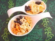 Colourful pasta Royalty Free Stock Photo