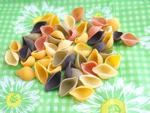 Colourful pasta Stock Photos