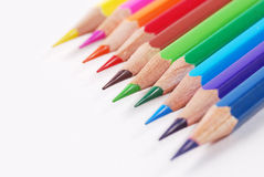 Colourful pencil. Group of arrangment colourful pencil Royalty Free Stock Image