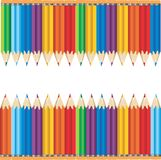 Colourful Pencils stock photos