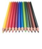 Colourful Pencils Royalty Free Stock Photos