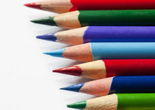 Colourful pencils Stock Image