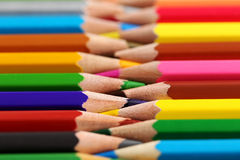 Colourful pencils Stock Photo