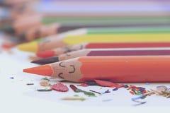 Colourful pencils Stock Image