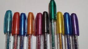 Colourful pióra fotografia stock