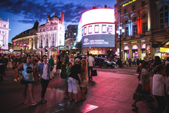 Colourful Piccadilly Circus, London Stock Images