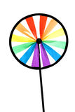 Colourful pinwheel Royalty Free Stock Photo