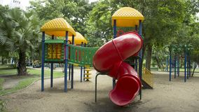 Colourful play ground Stock Images