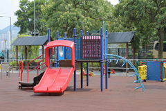 Colourful play ground in the park Stock Photos