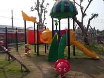 Colourful playground for happiness kid times Stock Photography