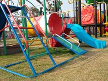 Colourful playground for happiness kid times Royalty Free Stock Photography