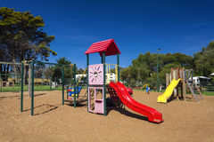 Colourful playground royalty free stock image