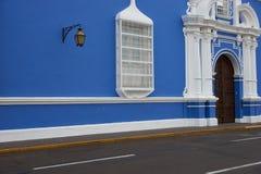 Colourful Plaza de Armas στο Περού Στοκ Εικόνα