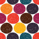 Colourful polka dots Royalty Free Stock Image
