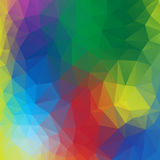Colourful poly abstract background . Royalty Free Stock Photos