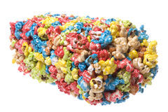 Colourful Popcorn Isolated Royalty Free Stock Photography