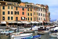 Colourful Portofino in Italy Royalty Free Stock Photo