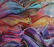 Colourful ręka rysujący żywicy tło zdjęcia royalty free