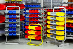 Colourful rack variety Stock Image