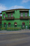Colourful Railway Buildings Stock Images