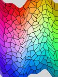 Colourful rainbow. The world of colours is beautiful Stock Illustration