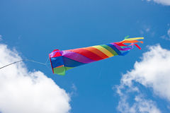 Colourful Rainbow Wind Spinner Royalty Free Stock Photos