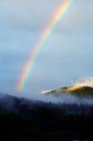 A colourful rainbow1. A colourful rainbow after summer rain Stock Image