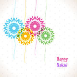Colourful Rakhi for Raksha Bandhan celebration. Royalty Free Stock Photography
