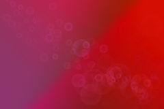 Colourful Red Art Stock Photography