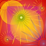 Colourful Red Background Stock Photo