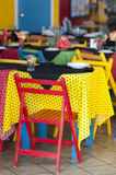 Colourful Restaurant Royalty Free Stock Photography
