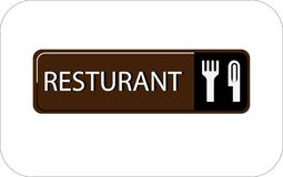 Colourful resturant vector image web icon. Colourful image resturant vector design web icon vector illustration