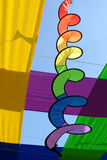 Colourful ribbon Stock Images