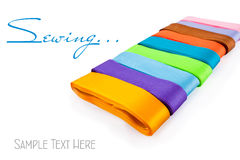 Colourful ribbons Royalty Free Stock Photography