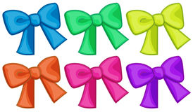 Colourful ribbons Stock Image