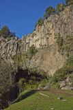 Colourful rocks in Laguna de Laja National Park, Chile Stock Image