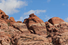 Colourful rocks in Red Rock Canyon State Park Royalty Free Stock Photo