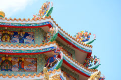 Colourful roof Royalty Free Stock Photos