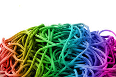 Colourful rope Stock Image