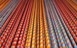 Colourful ropes Royalty Free Stock Photo