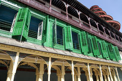 Colourful Royal Palace Building, Kathmandu, Nepal Stock Photo
