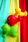 Colourful rubber toys 2 Royalty Free Stock Images