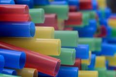 Colourful słoma zdjęcia stock